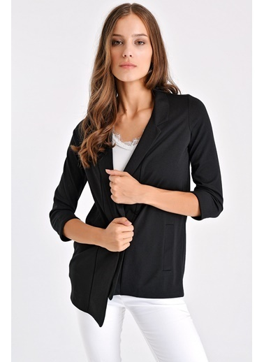 Jument Cepli Blazer Ceket Siyah